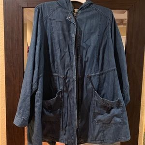 TORRID 3x light weight Jean jacket